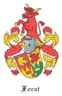 Forst Fram Wappen und Logo